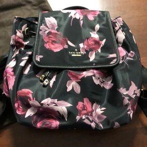 Kate Spade purple Molly rose backpack - NWOT